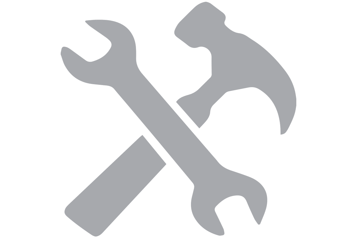 grey repair icons