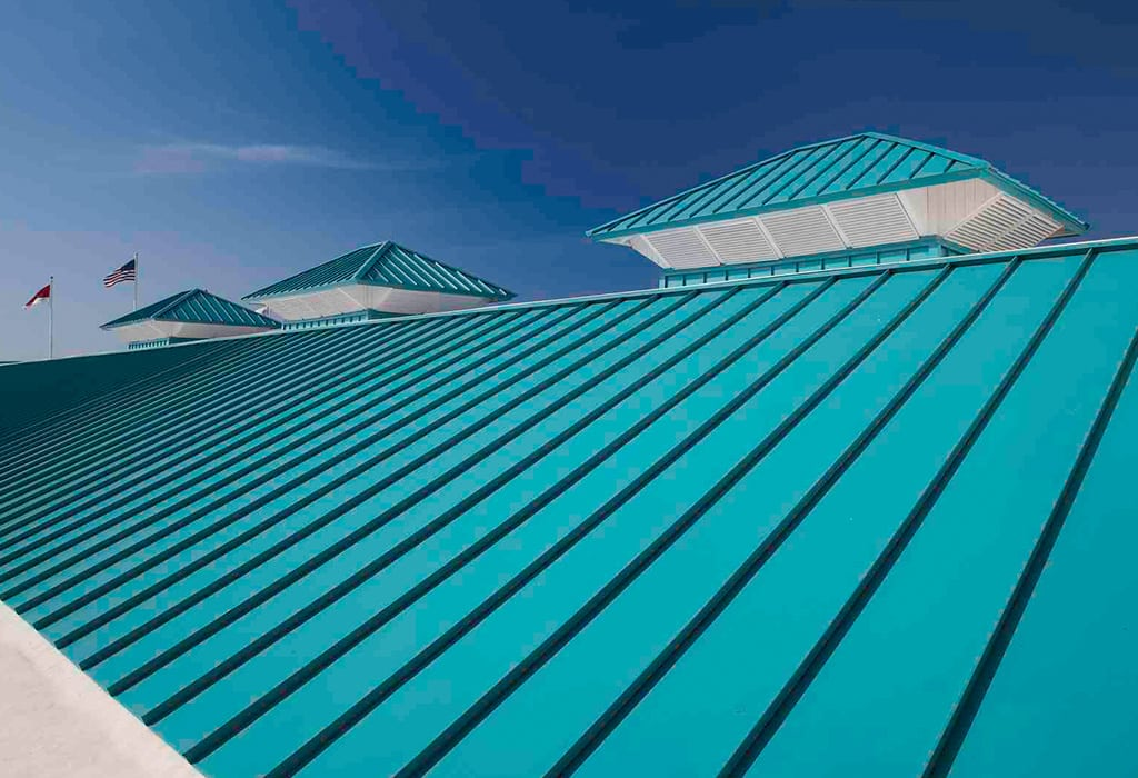Standing Seam Metal Roof System