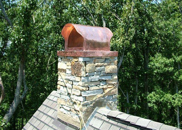Chimney Cap - General Roofing Custom Accessories