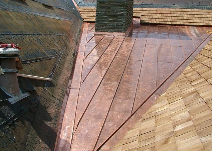 custom roof flashing