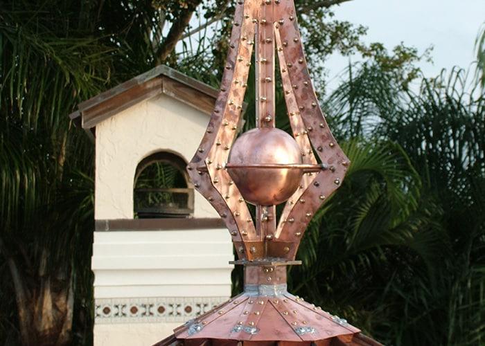 custom roof accessories - copper spires