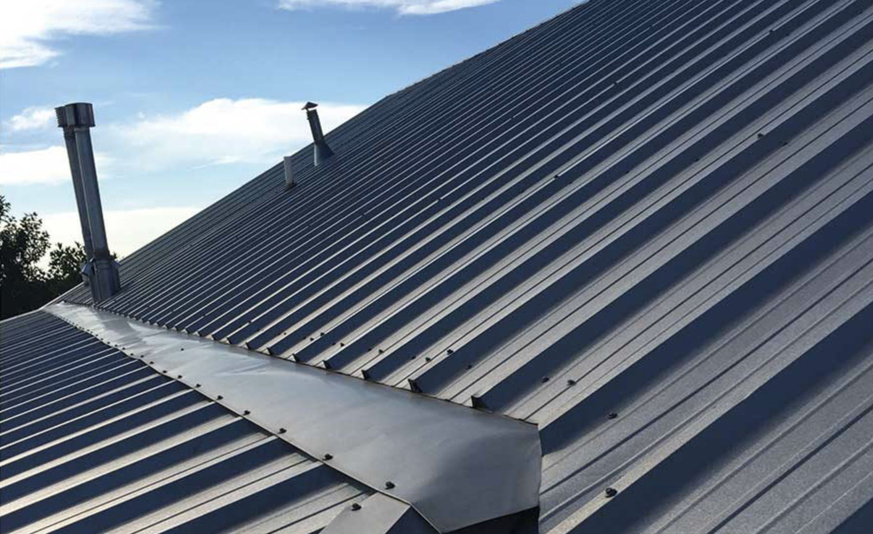 to repair or to replace commercial roofing