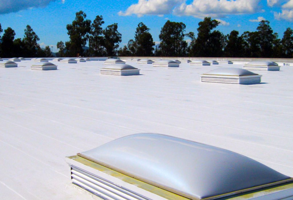 Single Ply Roof System PVC
